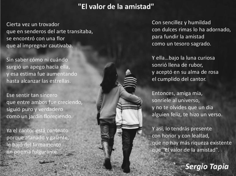 Presentation - El valor de la amistad - Sergio Tapia